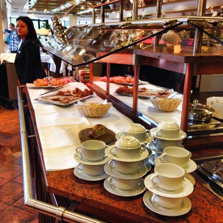 Frühstücksbuffet beim Unternehmerfrühstück