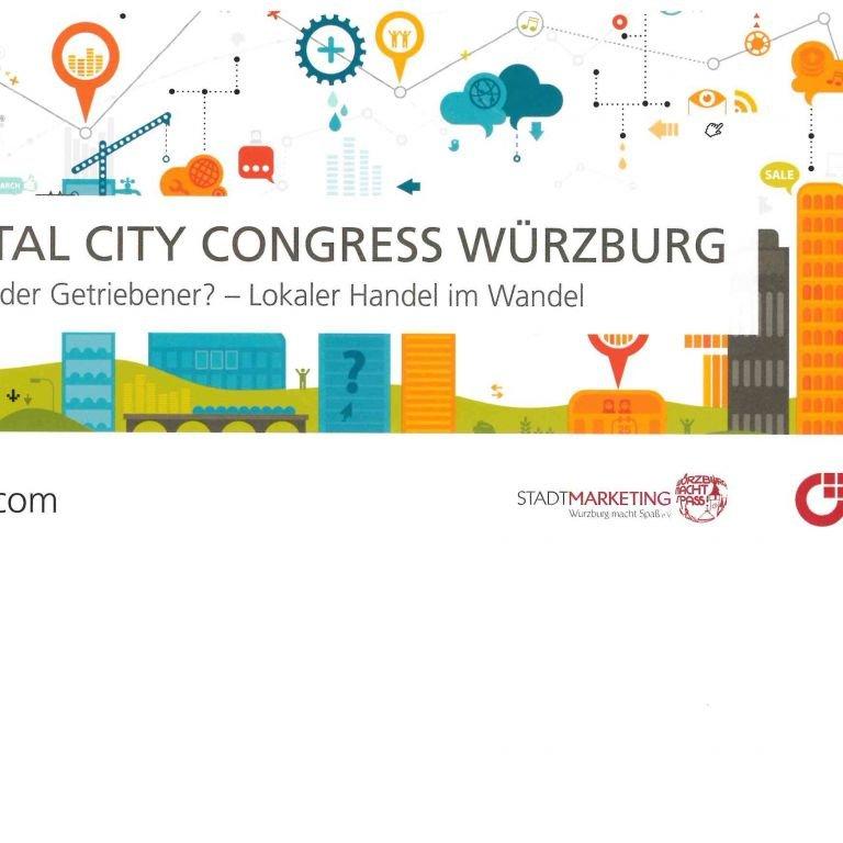 Flyer Digital City Congress 2019