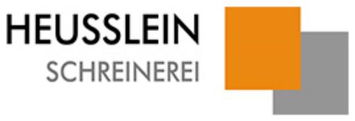 Schreinerei Heusslein