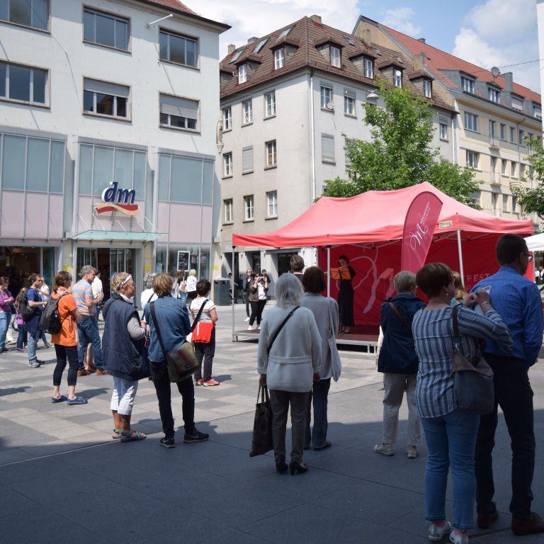 Bühne Eichhornstraße Würzburg Mozartfest 2019